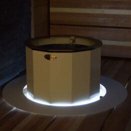 Valosarja suojakehykseen